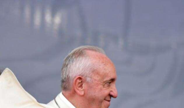 El Papa Francisco así está en Panamá.