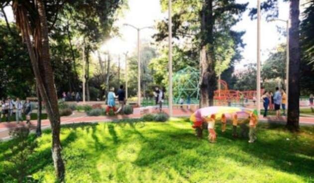 Parque Japón según el proyecto de la alcaldía