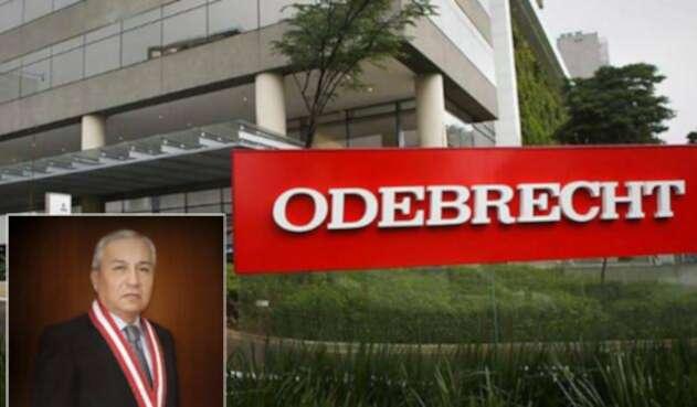Pedro Gonzalo Chávarry y una sede de Odebrecht