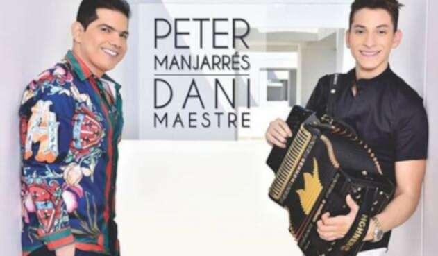 Peter Manjarrés y su nuevo acordeonero Daniel Maestre