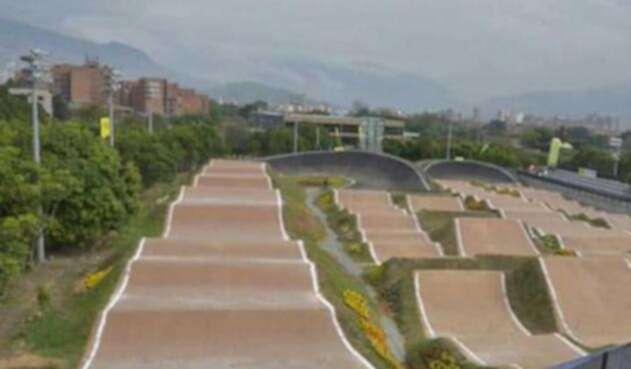 Deportistas fueron robados en la Pista BMX Mariana Pajón en Medellín.