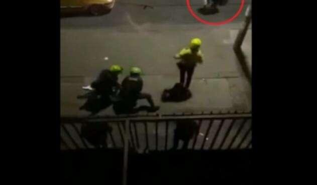 Este es el video que muestra los sucesos