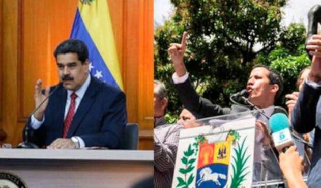 Nicolas Maduro Juan Guaido presidente venezuela
