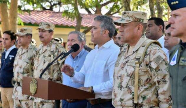 Duque pide que apoyo a Venezuela para que se libre de la dictadura