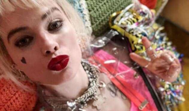 La actriz fue fotografiada durante el rodaje de la cinta que llegará a la pantalla en 2020.