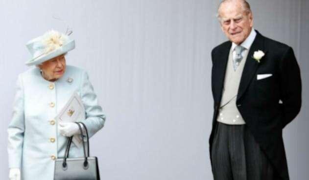Reina Isabel II y Príncipe Felipe de Inglaterra