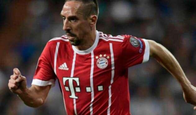 Franck Ribery será amonestado por el Bayern Múnich