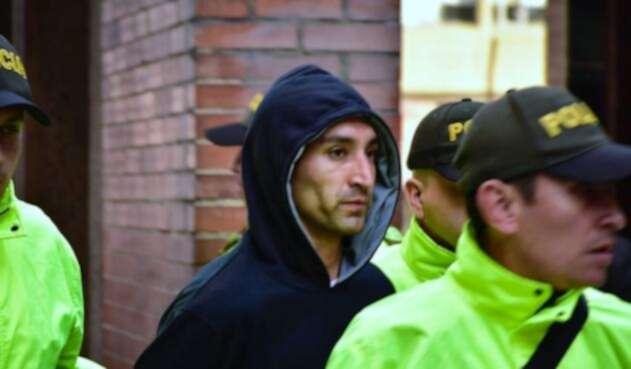 Ricardo Carvajal, presunto responsable de atentado en Bogotá.