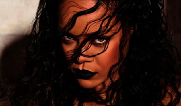 Rihanna, cantante nacida en Barbados.