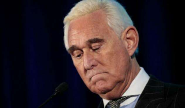Roger Stone, el exasesor de la campaña del presidente de EE.UU., Donald Trump.