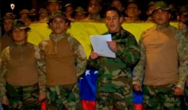 Roger Quintero Suárez, teniente venezolano radicado en Bogotá