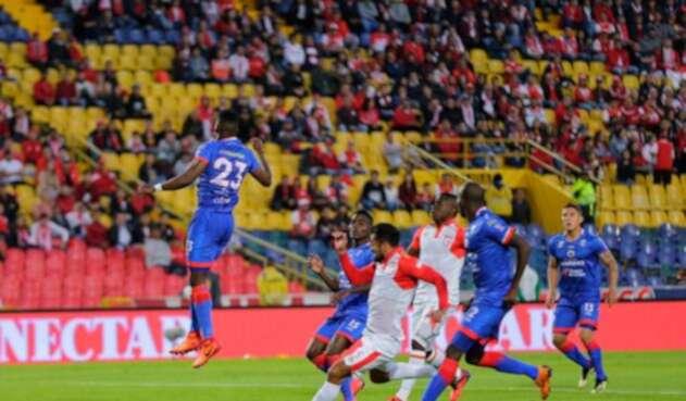 Santa Fe y Deportivo Pasto en el marco de la primera fecha de la Liga Águila 2019
