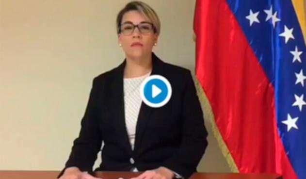 Scarlet Salazar, segunda en el Consulado General de Venezuela en Miami