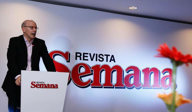 Alejandro Santos, director de la Revista Semana.