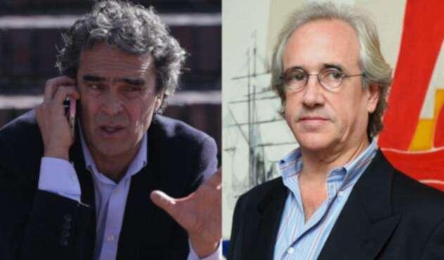 Sergio Fajardo y Juan Carlos Pastrana