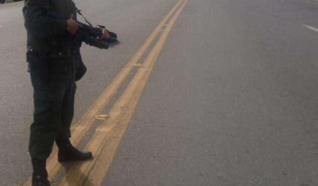 Autoridades resguardan carreteras de Colombia