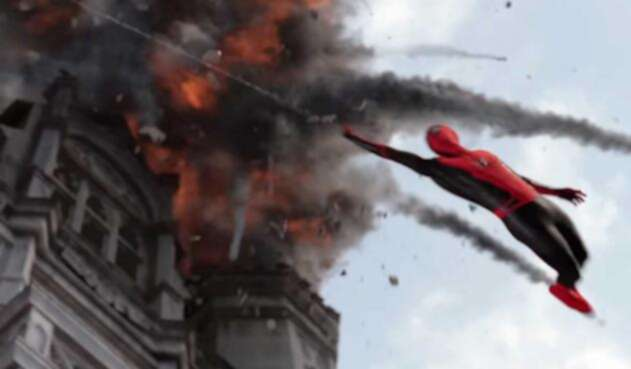 Spiderman visita Londres