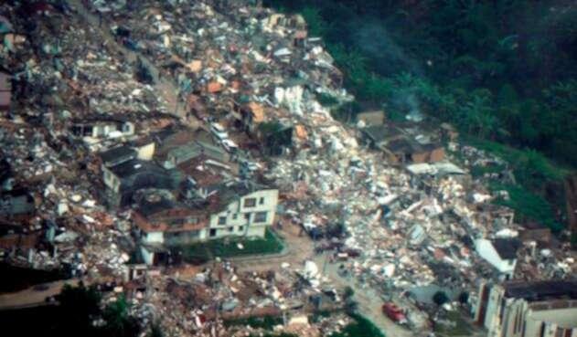 Armenia, en el marco del terremoto del 25 de enero de 1999