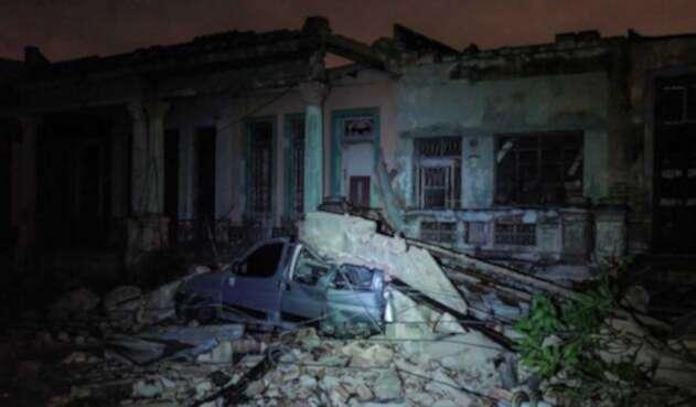 Tornado golpea a Cuba