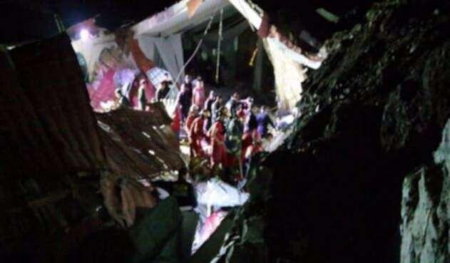 Tragedia durante boda en Perú