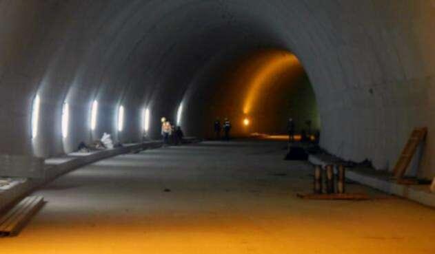 Las obras del Túnel de la Línea