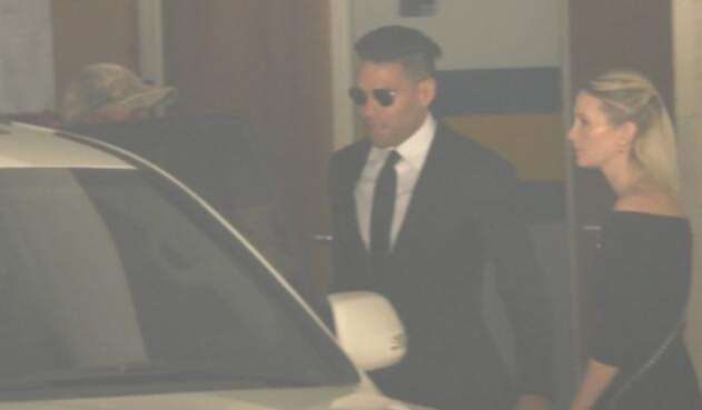 Radamel Falcao en Santa Marta para despedirse a su padre