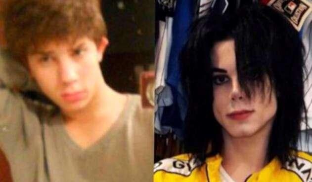 Leo Blanco, imitador de Michael Jackson