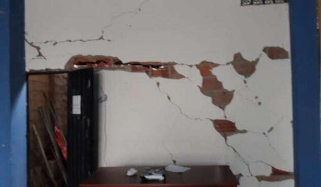 Afectación del sismo en Tolima