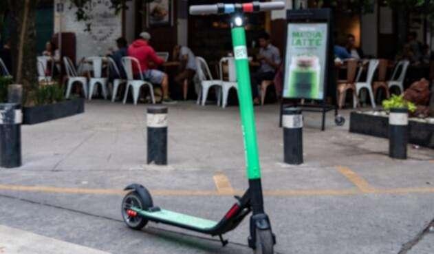Patinetas eléctricas se pretenden tomar la movilidad en Bogotá.