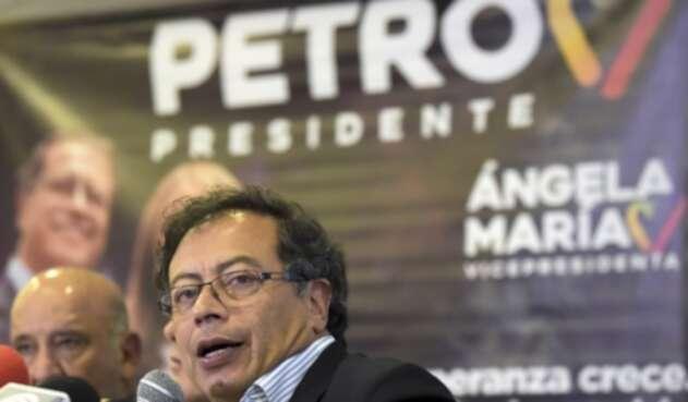 Gustavo Petro fue candidato presidencial por el movimiento 'Colombia Humana'