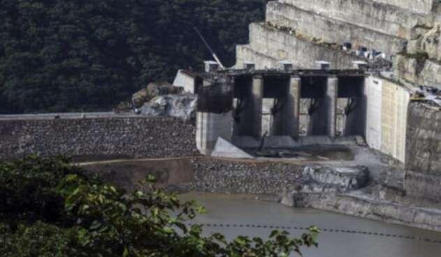 Proyecto hidroeléctrico Hidroituango, en Antioquia