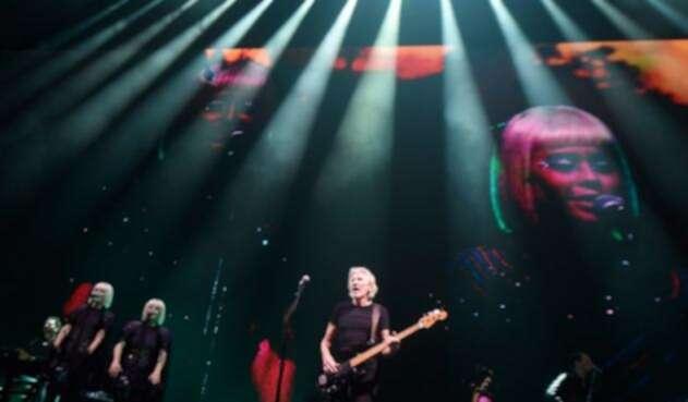 Roger Waters en concierto durante su gira 'Us & Them'