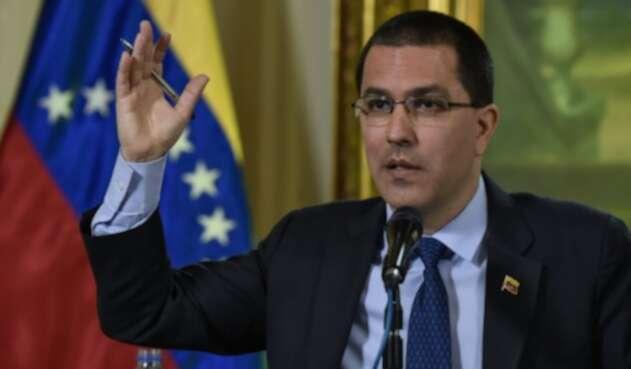Jorge Arreaza, canciller venezolano