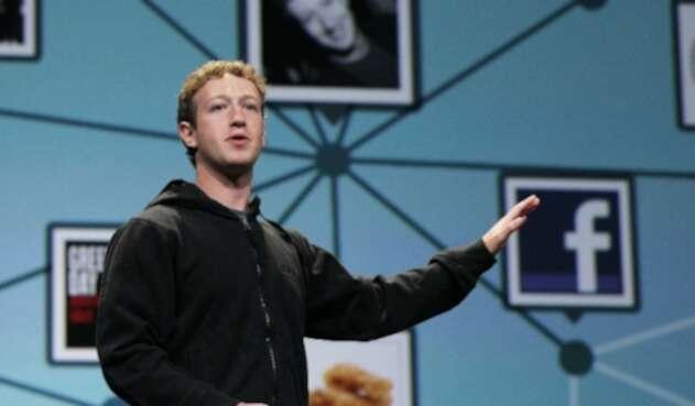 Mark Zuckerberg creador de Facebook