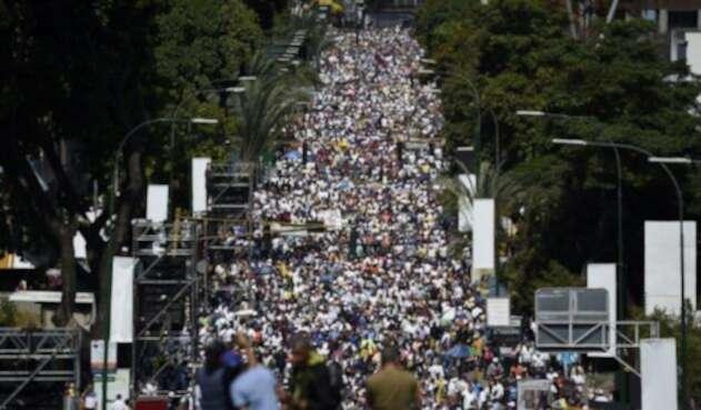 Marchas Venezuela  Caracas.