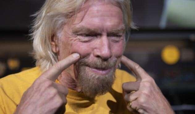 Richard Branson, millonario británico fundador de Virgin Galactic