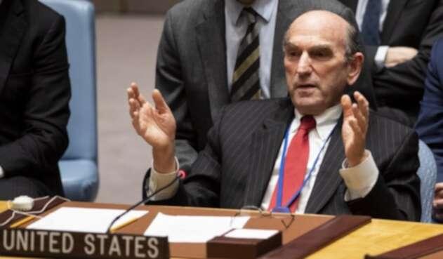 Elliott Abrams, el enviado de Estados Unidos para Venezuela, ante la ONU