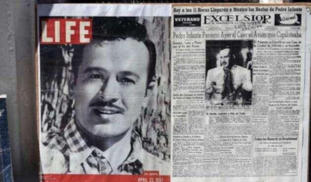 Pedro Infante homenajeado en la prensa