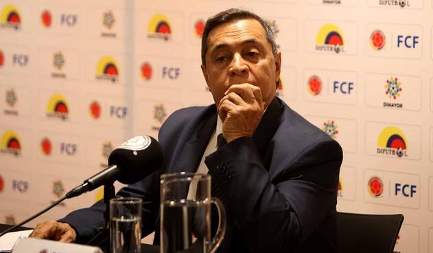 Álvaro González, presidente de la Difútbol