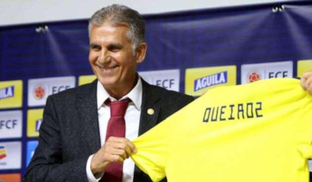 """Con mucha humildad espero hacer lo mejor, pero principalmente cuidar el patrimonio y el prestigio que Colombia"""": Carlos Queiroz"""
