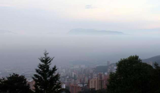 Calidad del aire en Medellín es dañino para poblaciones sensibles, según el reporte del Sistema de Alertas Tempranas, Siata.