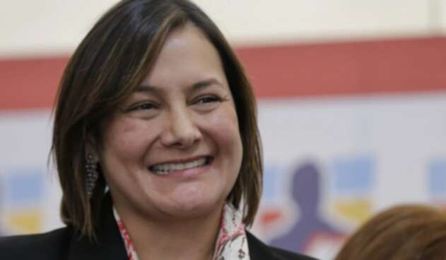 Ángela Garzón, candidata a la Alcaldía de Bogotá