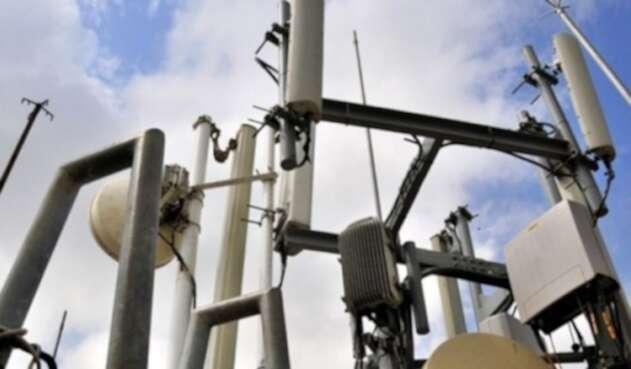 Antenas de telefonía móvil