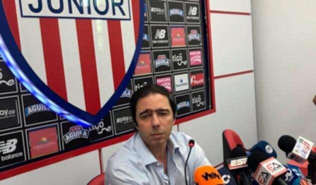 Antonio Char, presidente de Atlético Junior