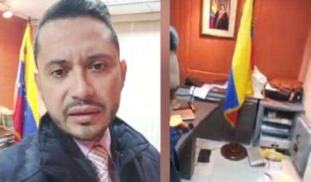 Ataque a consulado de Venezuela en Guayaquil