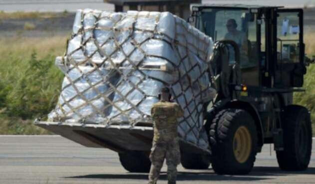 La ayuda humanitaria de Estados Unidos que llegó a Cúcuta