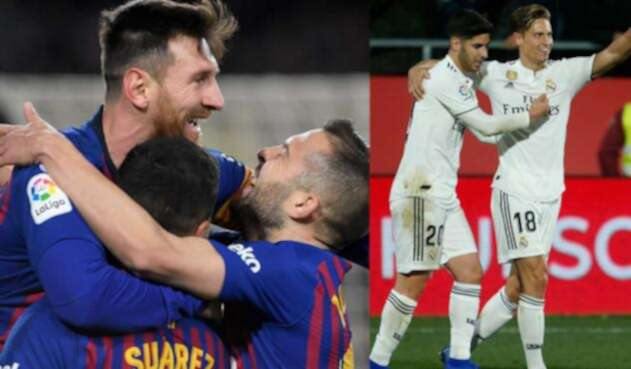 Barcelona vs Real Madrid en la Copa del Rey