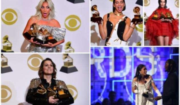 Lady Gaga, Dua Lipa, Kacey Musgraves, Brandi Carlile y Cardi B