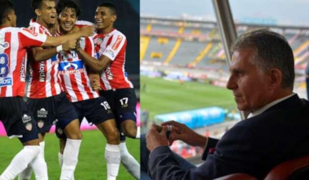 Carlos Queiroz contempla usar convocar a jugadores del Junior de Barranquilla