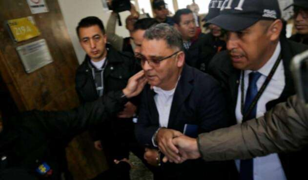 César Ceballos, director de la cárcel Modelo de Bogotá